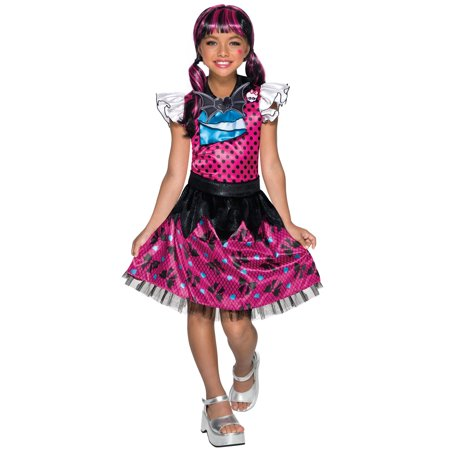 Monster High - Draculaura Child Costume - Kids Monsters Inc Costume