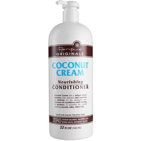 Renpure Originals Coconut Cream Nourishing Conditioner, 32 fl - Hemp Nourishing Conditioner