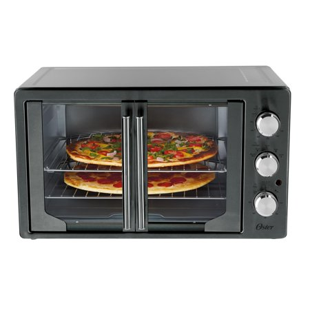 Oster Digital French Door Oven With Convection Metallic