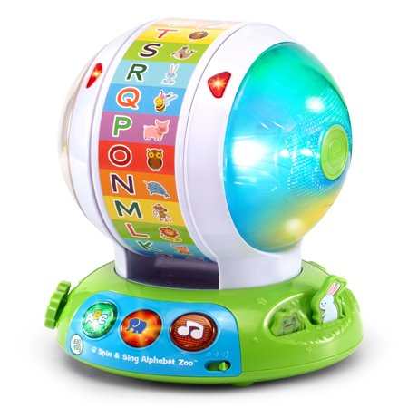 LeapFrog Spin & Sing Alphabet Zoo](Learning Toys For 3 Year Olds)