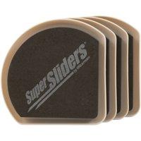 """Waxman Consumer Group 4734195N 5"""" Hide & Slide Furniture Sliders, 4 Count"""