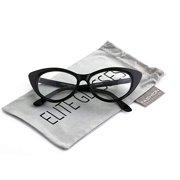 f42d1447bd9 Retro Sexy Women Eyeglasses Frame Fashion Cat Eye Clear Lens ladies Eye  Glasses