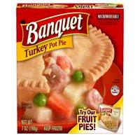 Banquet Frozen Pot Pie Dinner Turkey 7-Ounce