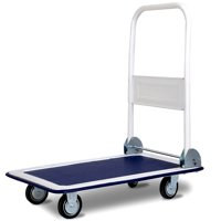 Costway 330lbs Platform Cart Dolly Folding Foldable Moving Warehouse Push Hand Truck New