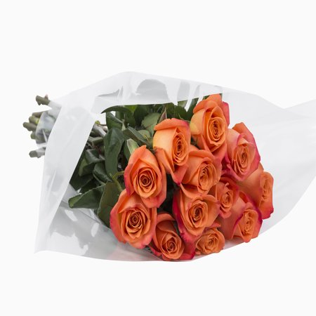 Grower2buyer Fresh Cut Flowers Dozen Roses 12 Stem Bunch Walmartcom