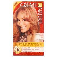 Creme of Nature Light Caramel Brown 9.2 Brun Caramel Clair Permanent Haircolor, 1 application