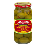 (2 Pack) MEZZETTA SPANISH COLOSSAL QUEEN OLIVES WITH PIMENTO