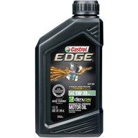 Castrol EDGE 5W-30 Advanced Full Synthetic Motor Oil, 1 QT