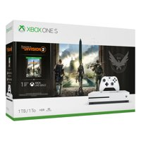 Microsoft Xbox One S 1TB Tom Clancy's The Division 2 Bundle, White, 234-00872