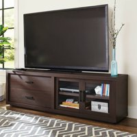 "Better Homes & Gardens Steele TV Stand for TV's up to 80"", Espresso Finish"