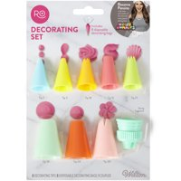 Wilton Rosanna Pansino Basic Decorating Tips and Bag Set