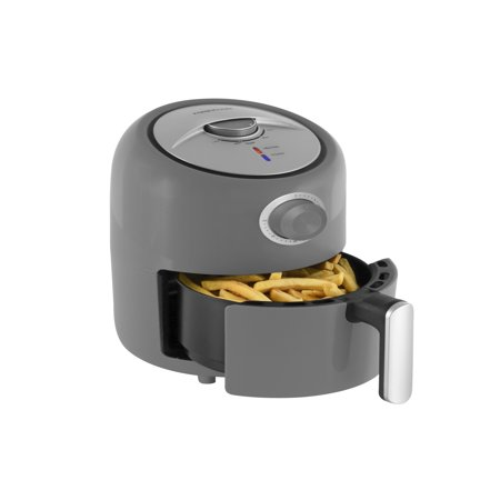 Farberware 1.9-Quart Compact Oil-Less Fryer, Grey