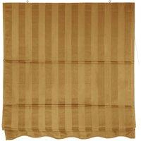 Striped Roman Shades, Gold