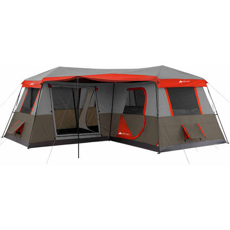 Ozark Trail 16x16 Instant Cabin Tent Sleeps 12 (8 Person 2 Room)