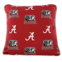 Alabama Crimson Tide College Covers Indoor or Outdoor Decorative Pillow 16 in x 16 in