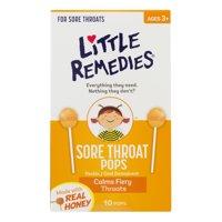 Little Remedies Sore Throat Pops, 10.0 CT