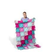 Heart Fleece Blanket No-Sew Craft Kit ( 6b5d1136c