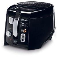 De'Longhi 2.2 Lb. Cool Touch Roto Deep Fryer - Black