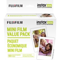 Fujifilm Instax Mini Instant Film, 60 Exposures