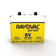 Rayovac Heavy-Duty Lantern, 6V Battery, 2 Count