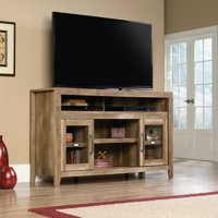 """Sauder Stone Valley Entertainment Credenza for TVs up to 60"""", Pioneer Oak Finish"""
