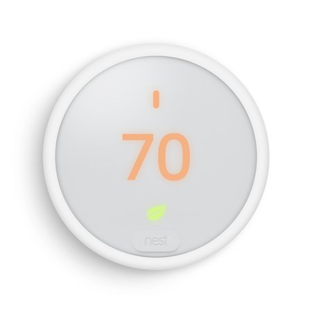 Nest Thermostat E + FREE Google Home Mini