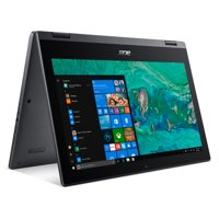 "Acer Spin 1, 11.6"" HD Touch Notebook, Intel Celeron N4000 Dual Core, Intel UHD Graphics, 4GB , 64GB HDD, SP111-33-C58B"