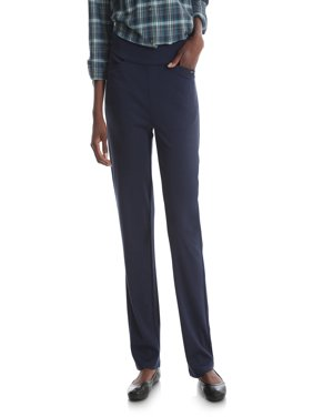 Women's Ponte Knit Pull On Pant