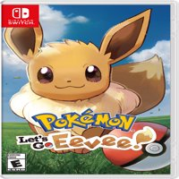 Pokemon: Let's Go, Eevee!, Nintendo, Nintendo Switch, 045496593971