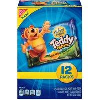(2 Pack) Nabisco Teddy Grahams Honey Graham Snacks 12-1 oz. Packs