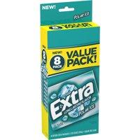 Extra Sugar-Free Polar Ice Flavor Gum Value Pack, 15 Pieces, 8 Count