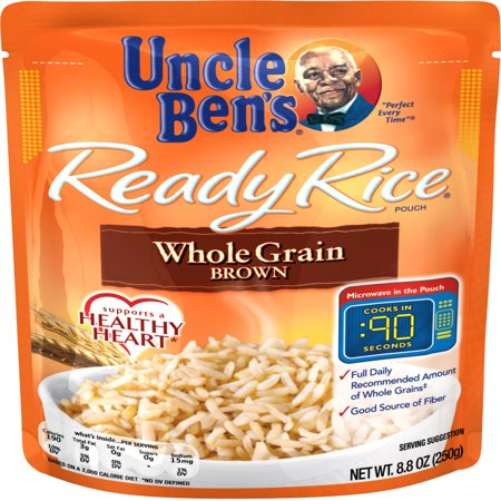 (3 Pack) UNCLE BEN'S Ready Rice: Whole Grain Brown, (Brown Rice Shells)