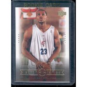 2003 Upper Deck  10 One in a Billion Lebron James Cavaliers NBA Rookie Card a135d790c