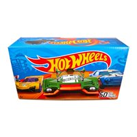 Hot Wheels 50-Car Gift Pack, 1:64 Scale (Styles May Vary)