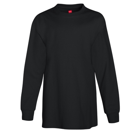 Hanes Youth Tagless Long Sleeve Tee (Little Boys & Big Boys)