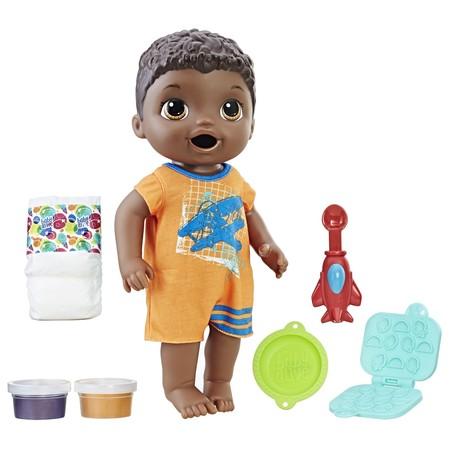 Baby alive super snacks snackin' luke - black hair](Black Asian Babies)