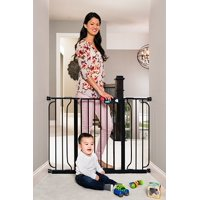 Regalo Easy Step Extra Wide Baby Gate Black 51 Inch
