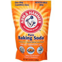 (2 Pack) Arm & Hammer Pure Baking Soda, 3.5 lbs