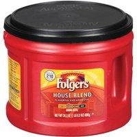 Folgers Medium Roast Ground Coffee, House Blend, 24.2 Oz