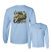 Have A Crappie Day Panfish Funny Fishing Long Sleeve T-Shirt