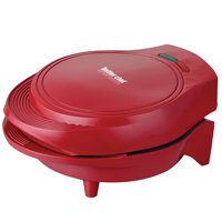 Better Chef Electric Double Omelet Maker - Red