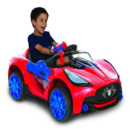 Spiderman-marvel 6 Volt Spider-man Super Car for