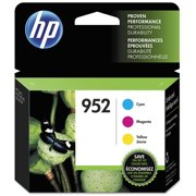 HP 952 Tri-Color Original Ink Cartridges, 3-pack (N9K27AN)