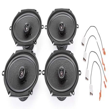 - Skar Audio Complete Performance Series Speaker Upgrade Package - Fits 1999-2004 Ford Mustang