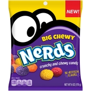 NERDS Big Chewy Candy 6 oz. Bag