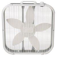 """Lasko 20"""" Box 3-Speed Fan, Model #B20200, White"""