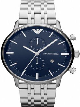 Emporio Armani Men's Gianni Chronograph Stainless Steel Bracelet Watch 43mm AR1648