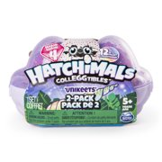 Hatchimals CollEGGtibles, 2 Pack Egg Carton with Special Edition Season 4 Hatchimals CollEGGtibles, for Ages 5 and Up (Styles and Colors May Vary)