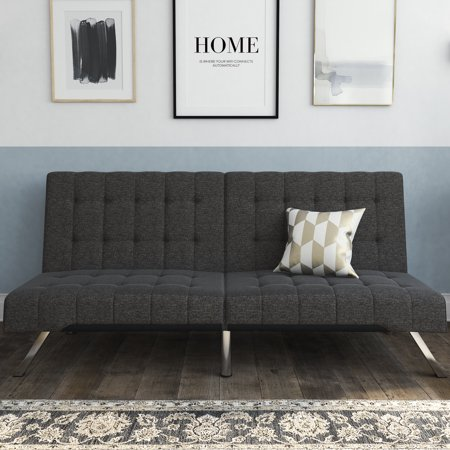 DHP Emily Convertible Futon Sofa Couch, Multiple Finishes   Walmart.com