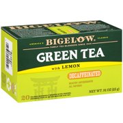 (3 Boxes) Bigelow® Green Tea with Lemon Decaffeinated Tea Bags .91 oz. Box